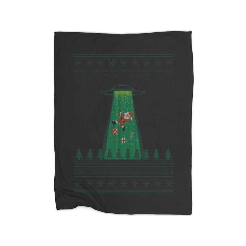 Goodbye Santa Home Blanket by Morozinka Artist Shop
