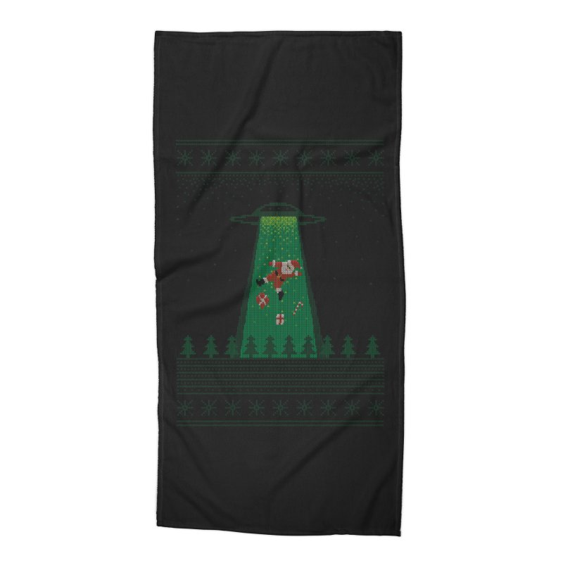 Goodbye Santa Accessories Beach Towel by Morozinka Artist Shop