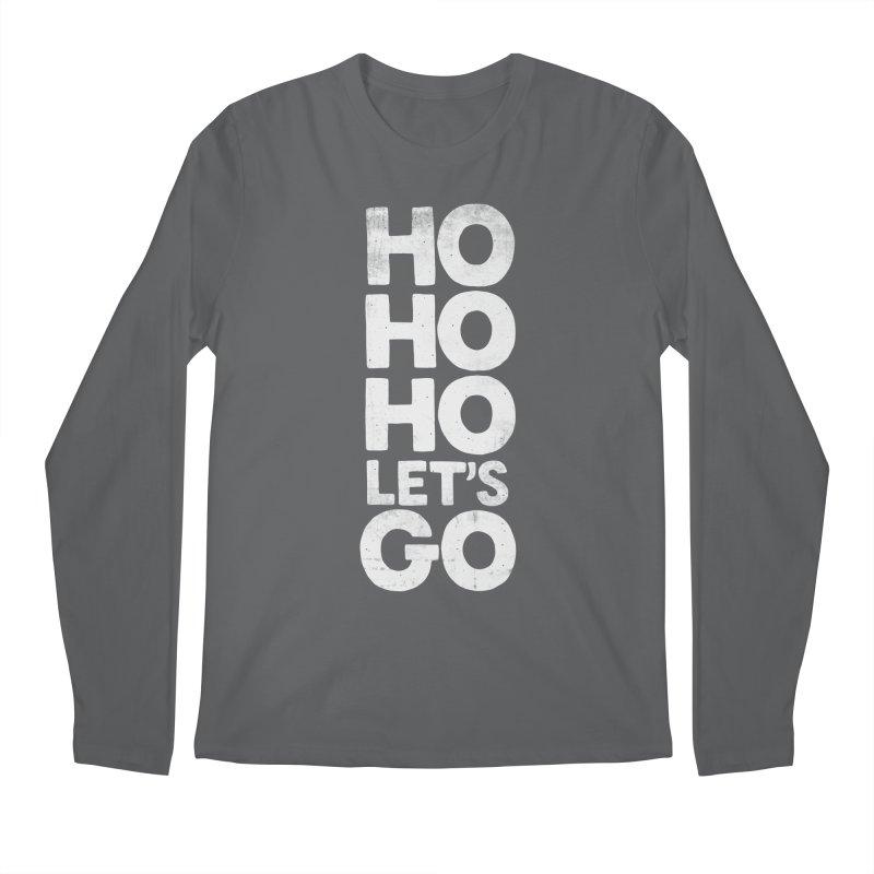 Ho Ho Ho, Let's Go! Men's Longsleeve T-Shirt by Morozinka Artist Shop