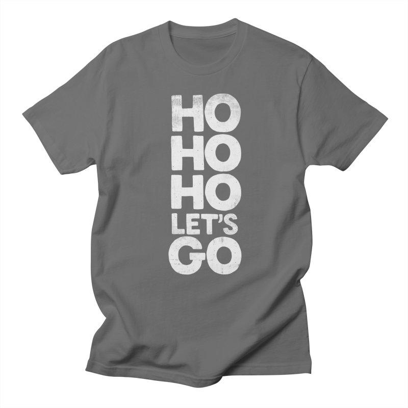 Ho Ho Ho, Let's Go! Men's T-Shirt by Morozinka Artist Shop