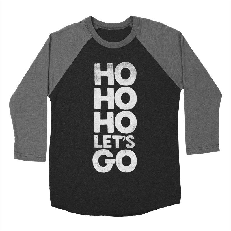 Ho Ho Ho, Let's Go! Women's Baseball Triblend T-Shirt by Morozinka Artist Shop
