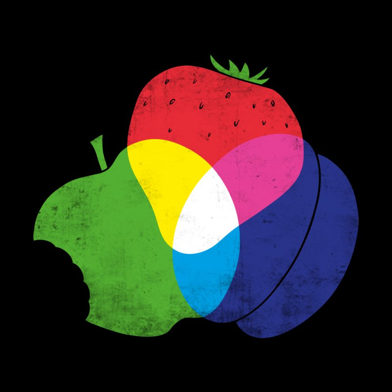 RGB Fruit Men's Zip-Up Hoody by Morozinka Artist Shop