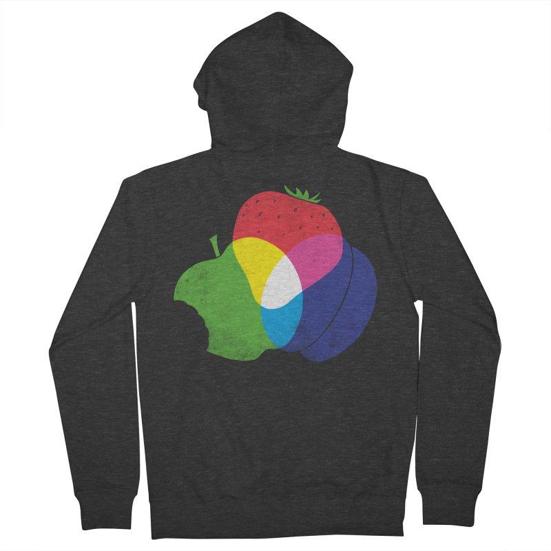 RGB Fruit Men's Zip-Up Hoody by Morozinka Artist Shop
