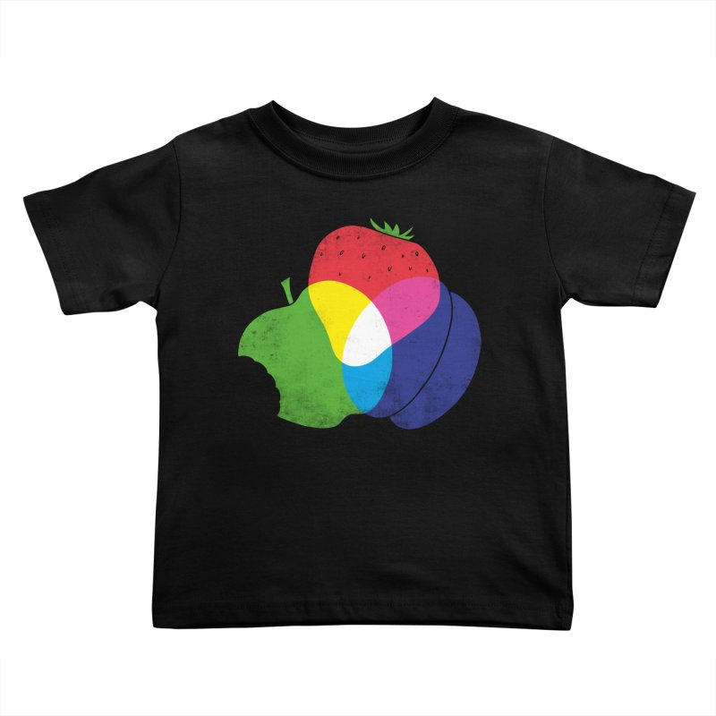 RGB Fruit Kids Toddler T-Shirt by Morozinka Artist Shop