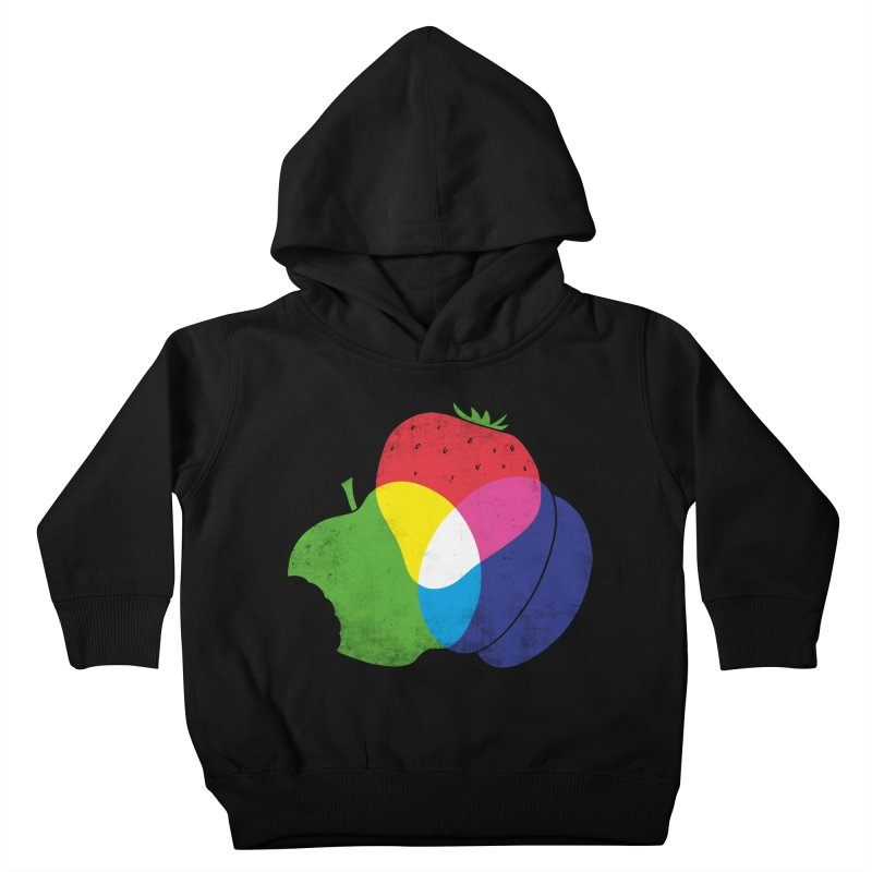 RGB Fruit Kids Toddler Pullover Hoody by Morozinka Artist Shop