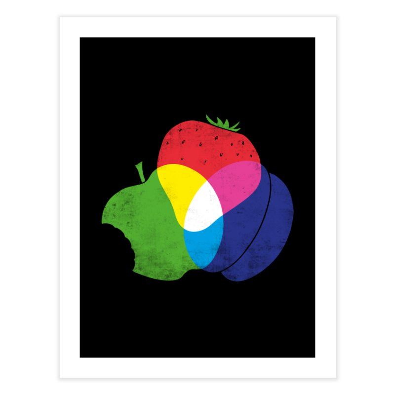RGB Fruit Home Fine Art Print by Morozinka Artist Shop