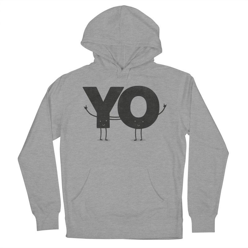 YO Men's Pullover Hoody by Morozinka Artist Shop