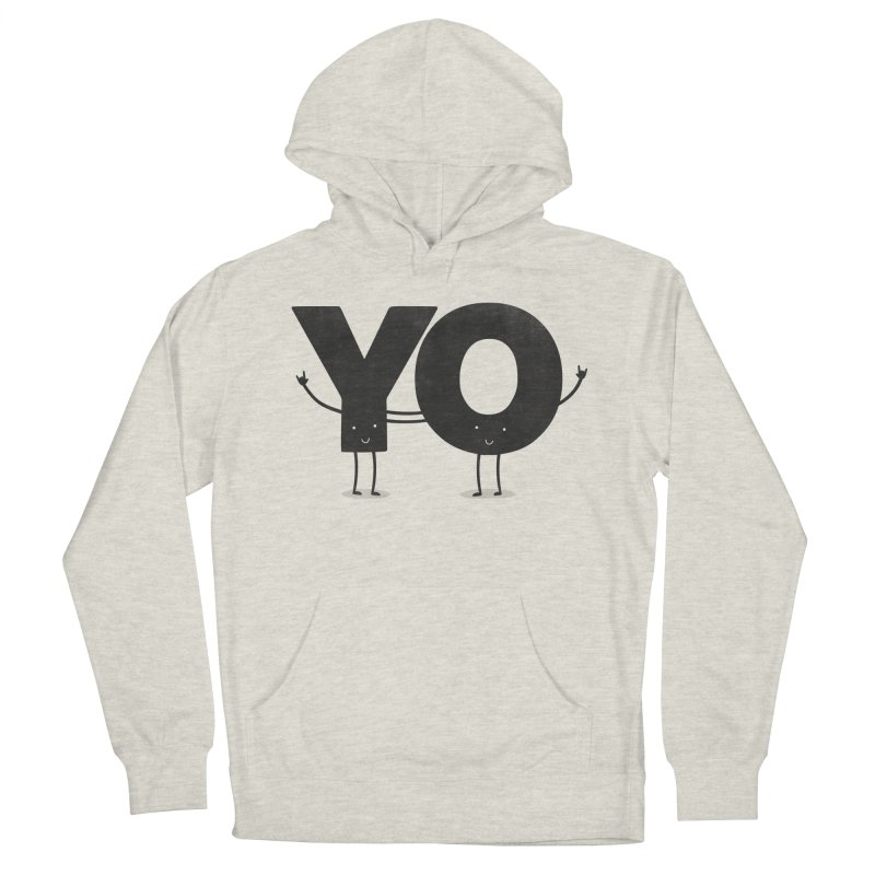 YO Men's Pullover Hoody by Morozinka Artist Shop