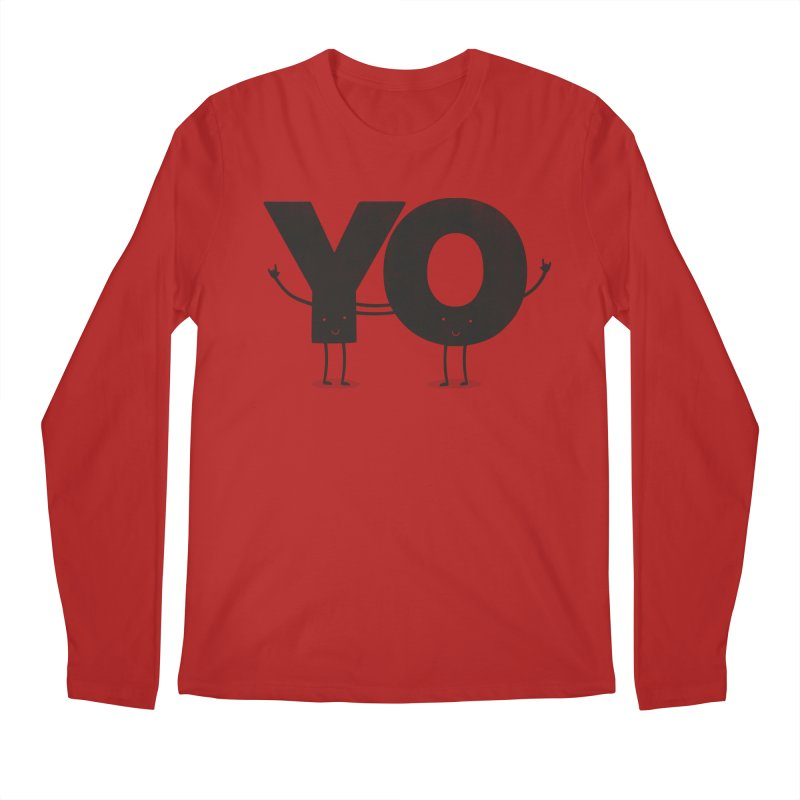 YO Men's Longsleeve T-Shirt by Morozinka Artist Shop