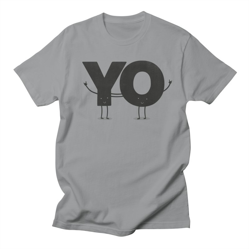 YO Men's T-shirt by Morozinka Artist Shop