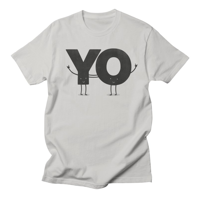 YO Men's T-Shirt by Morozinka Artist Shop