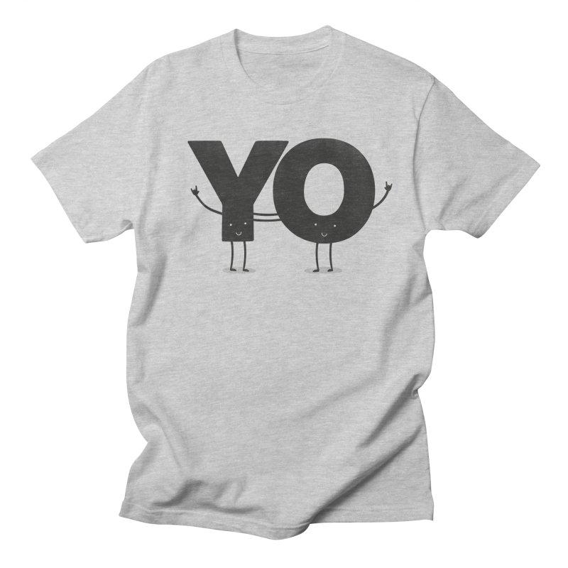 YO Men's Regular T-Shirt by Morozinka Artist Shop