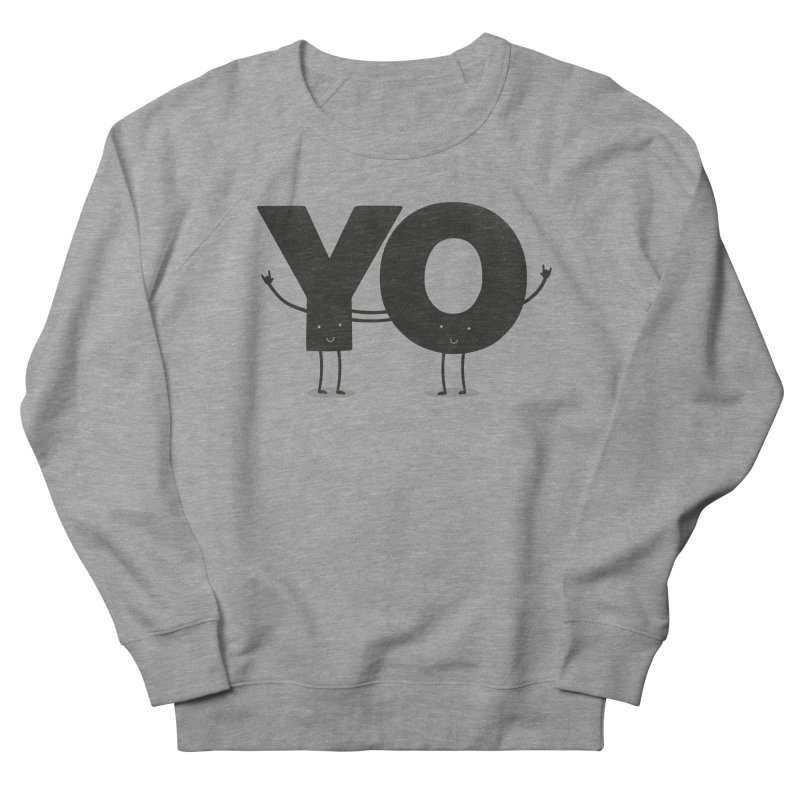 YO Men's Sweatshirt by Morozinka Artist Shop
