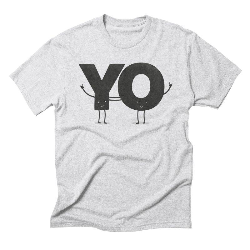 YO Men's Triblend T-Shirt by Morozinka Artist Shop