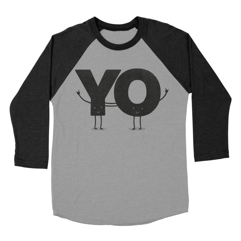YO Men's Baseball Triblend T-Shirt by Morozinka Artist Shop