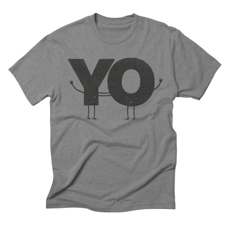 YO Men's Triblend T-shirt by Morozinka Artist Shop