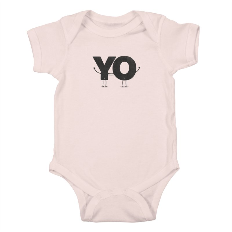 YO Kids Baby Bodysuit by Morozinka Artist Shop
