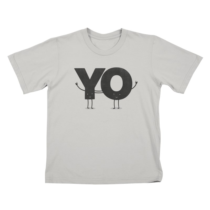YO Kids T-Shirt by Morozinka Artist Shop