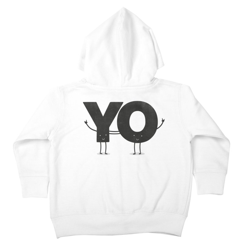 YO Kids Toddler Zip-Up Hoody by Morozinka Artist Shop
