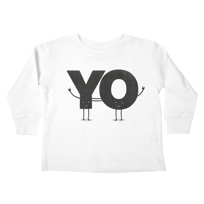 YO Kids Toddler Longsleeve T-Shirt by Morozinka Artist Shop