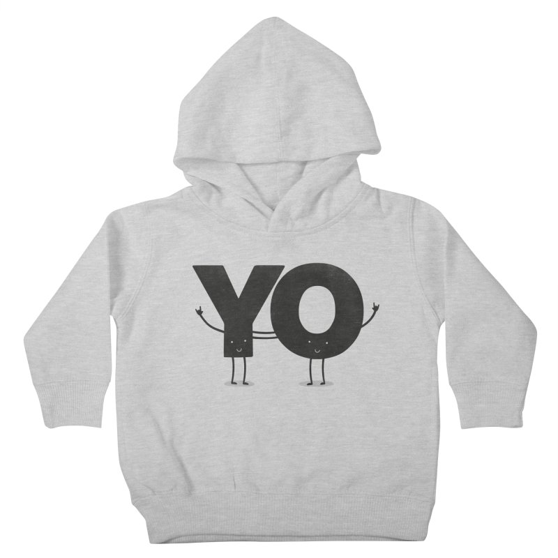 YO Kids Toddler Pullover Hoody by Morozinka Artist Shop