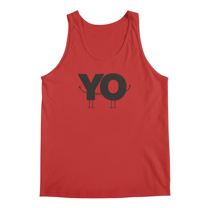 YO Men's Tank by Morozinka Artist Shop