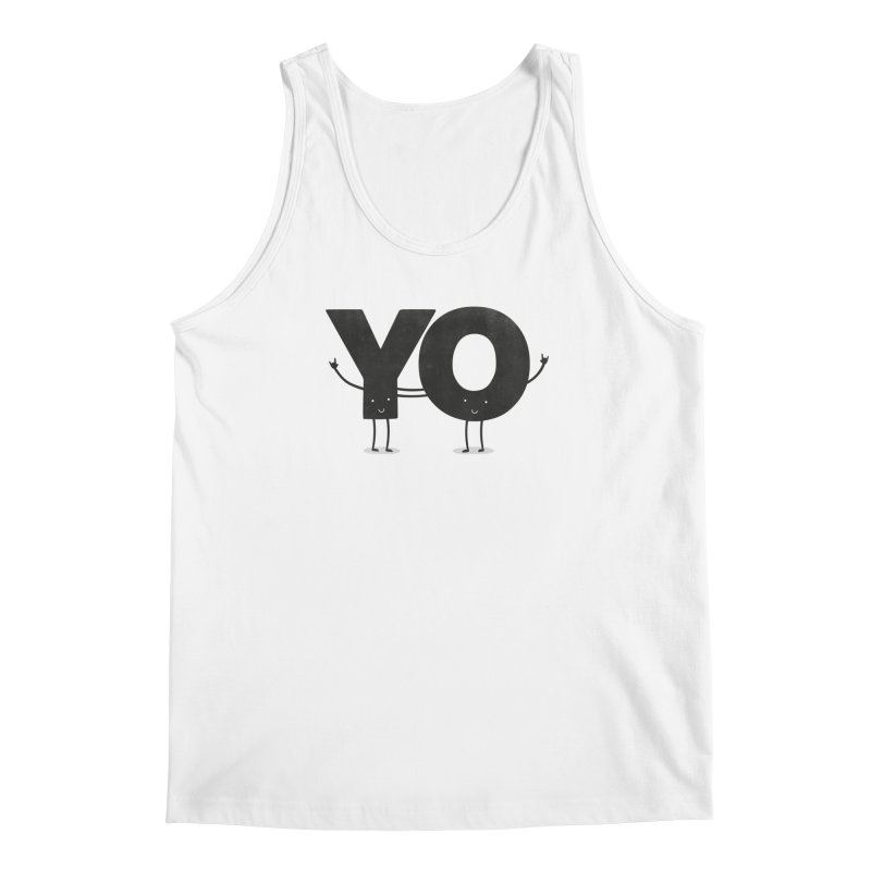 YO Men's Tank by Morozinka Artist Shop