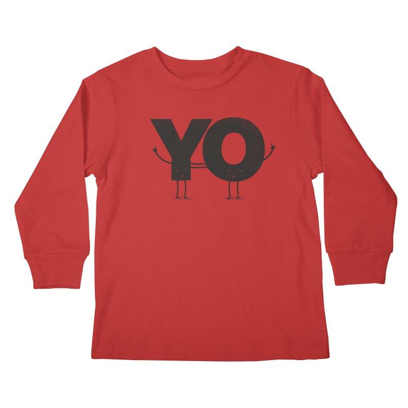 YO Kids Longsleeve T-Shirt by Morozinka Artist Shop