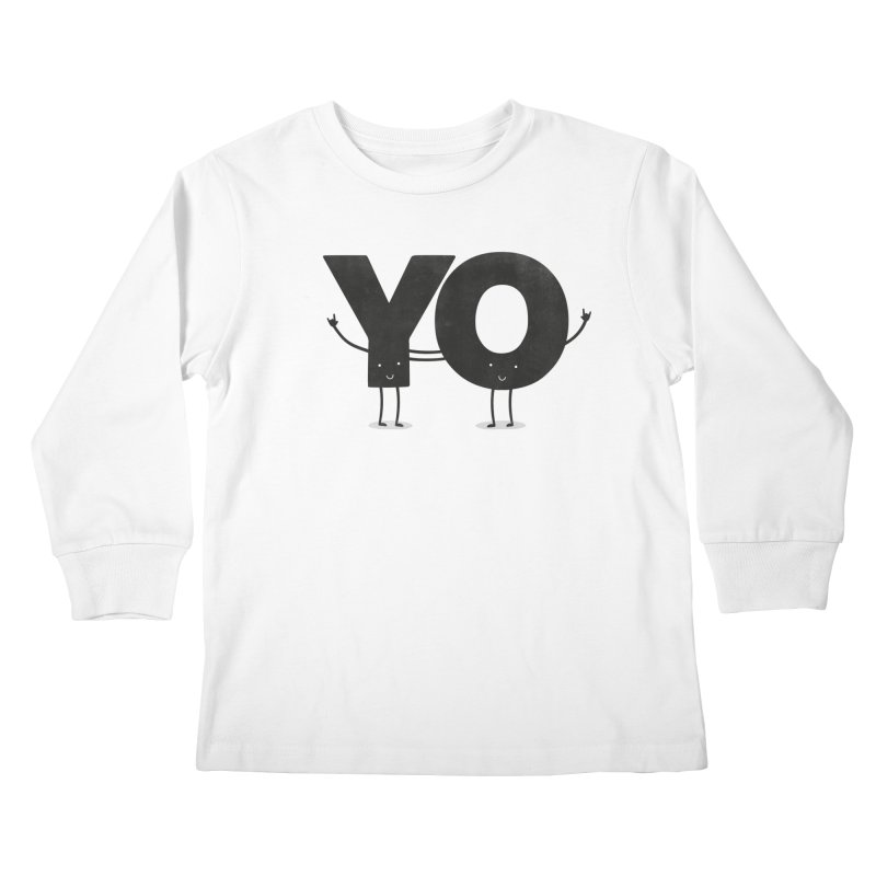 YO Kids Longsleeve T-Shirt by Morozinka Artist Shop