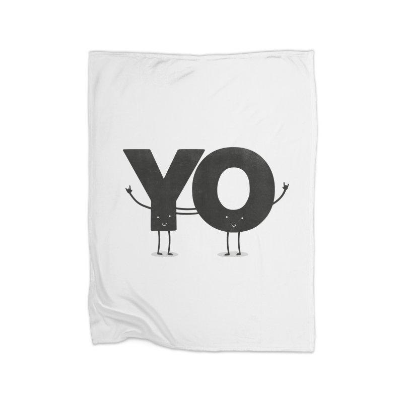 YO Home Blanket by Morozinka Artist Shop