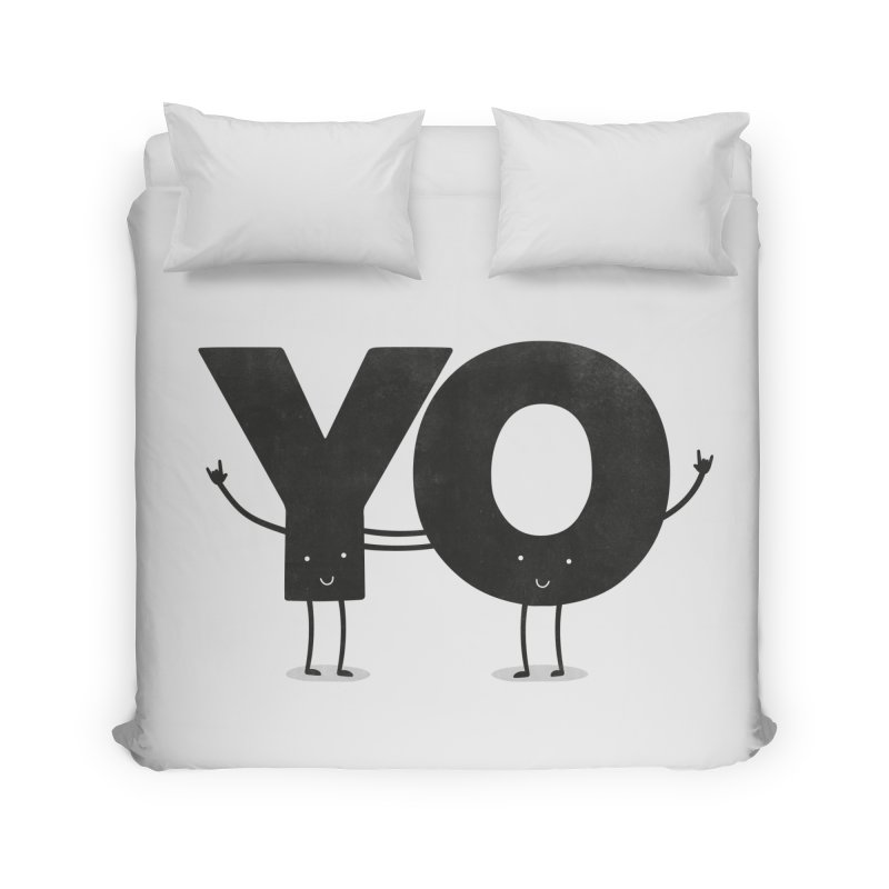 YO Home Duvet by Morozinka Artist Shop