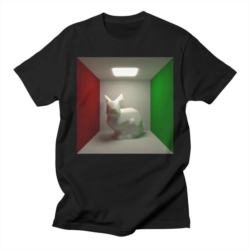 Bunny in a Box Men's T-shirt by morpheu5's Artist Shop
