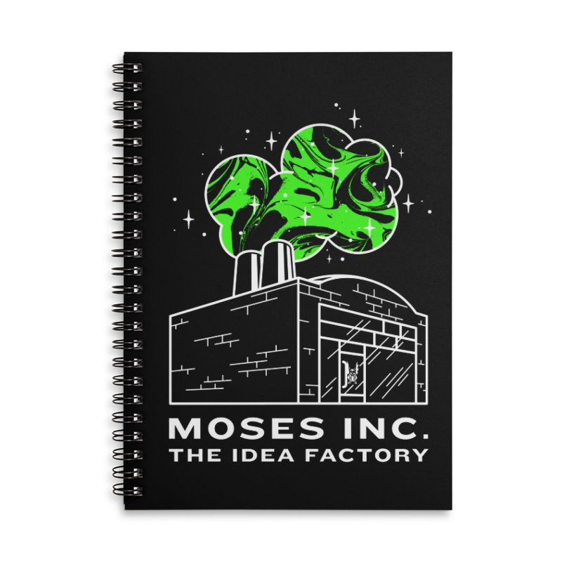 Idea Factory Accessories Lined Spiral Notebook by Gargoyle Gear