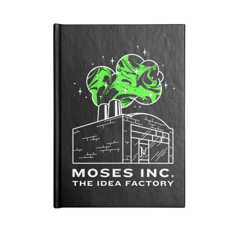 Idea Factory in Blank Journal Notebook by Gargoyle Gear