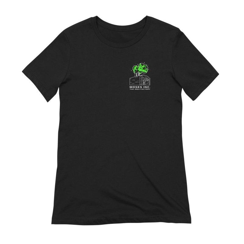 Idea Factory in Women's Extra Soft T-Shirt Black by Gargoyle Gear