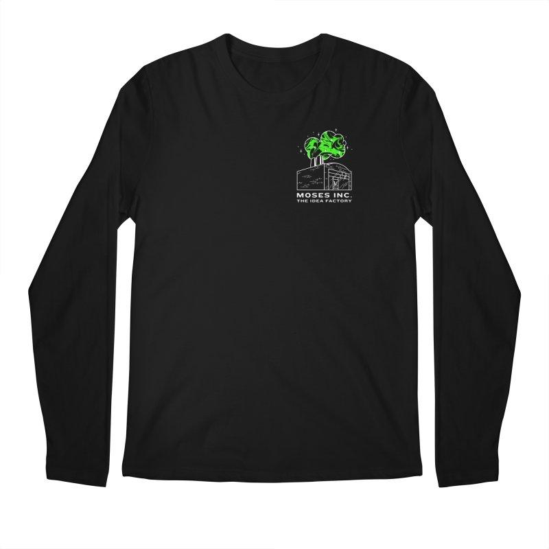 Idea Factory in Men's Regular Longsleeve T-Shirt Black by Gargoyle Gear