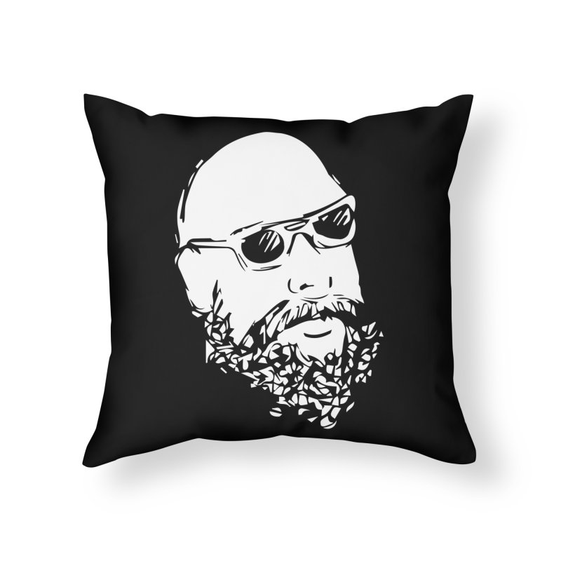 Sketchy, man. . . .   Home Throw Pillow by Thee Most Exalted T-shirt page.
