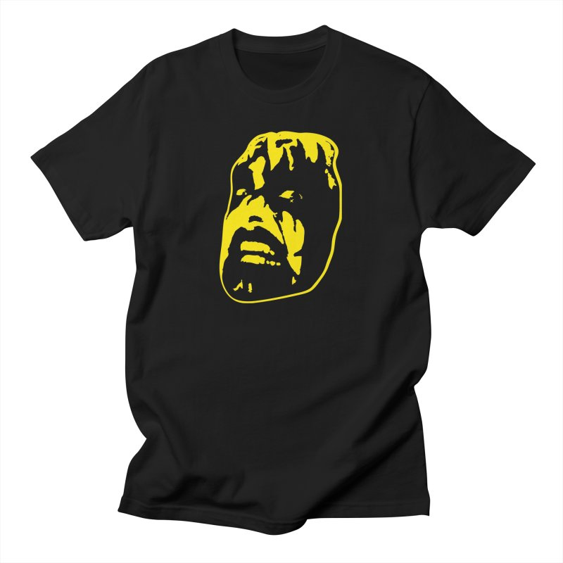 Metal Men's T-Shirt by Thee Most Exalted T-shirt page.