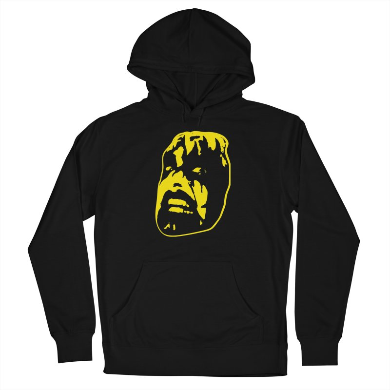 Metal Men's French Terry Pullover Hoody by Thee Most Exalted T-shirt page.