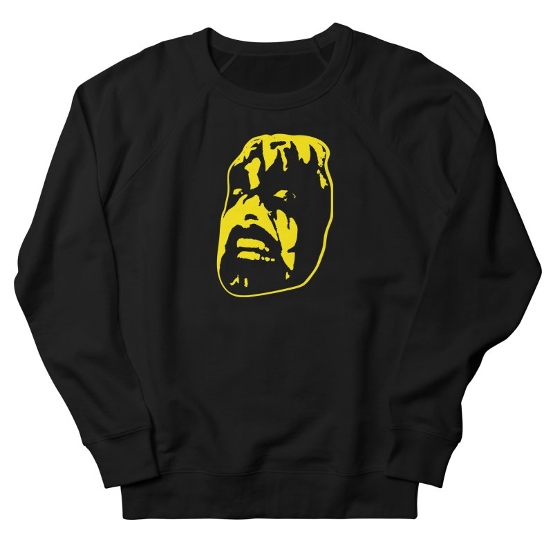 Metal Women's French Terry Sweatshirt by Thee Most Exalted T-shirt page.