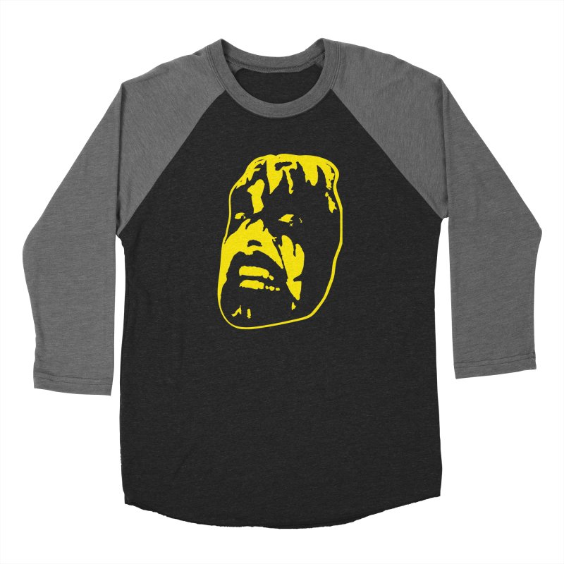 Metal Men's Baseball Triblend Longsleeve T-Shirt by Thee Most Exalted T-shirt page.
