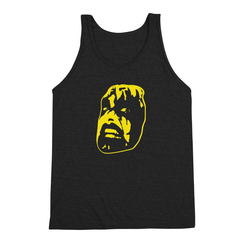 Metal Men's Triblend Tank by Thee Most Exalted T-shirt page.