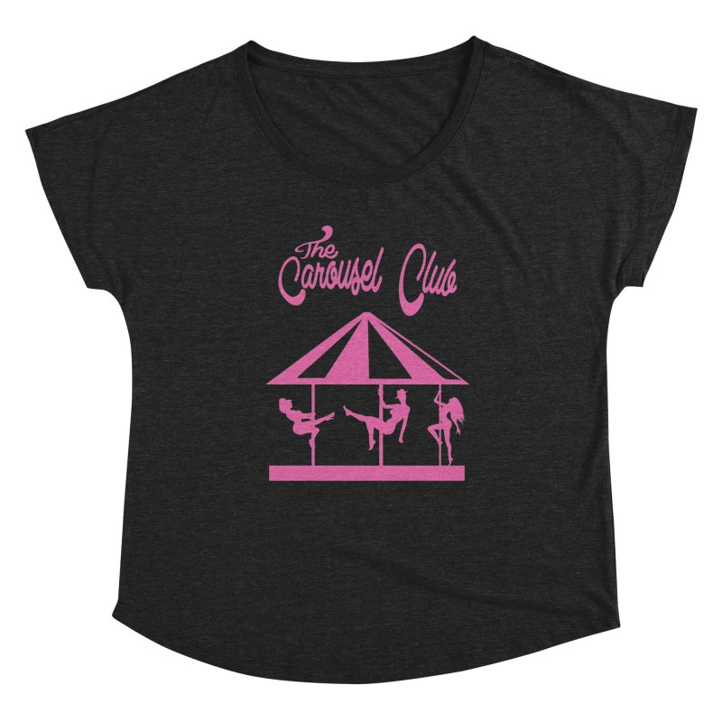 The Carousel Women's Dolman Scoop Neck by Thee Most Exalted T-shirt page.