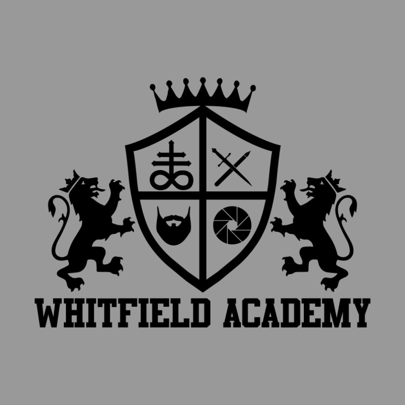 WHITFIELD ACADEMY Men's Zip-Up Hoody by Thee Most Exalted T-shirt page.