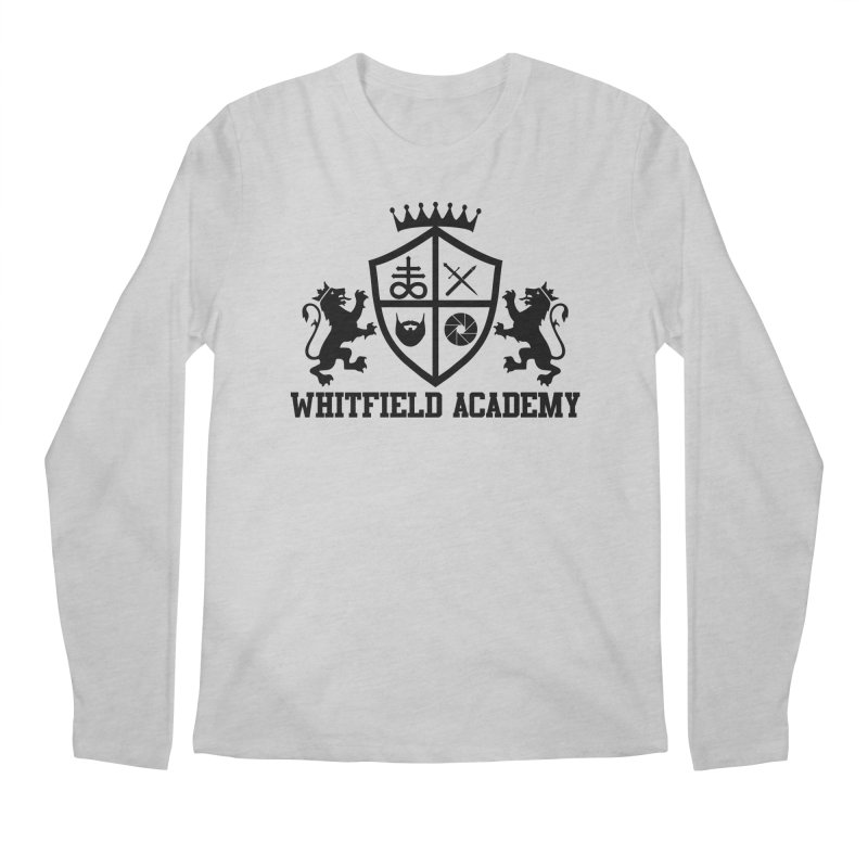 WHITFIELD ACADEMY Men's Regular Longsleeve T-Shirt by Thee Most Exalted T-shirt page.