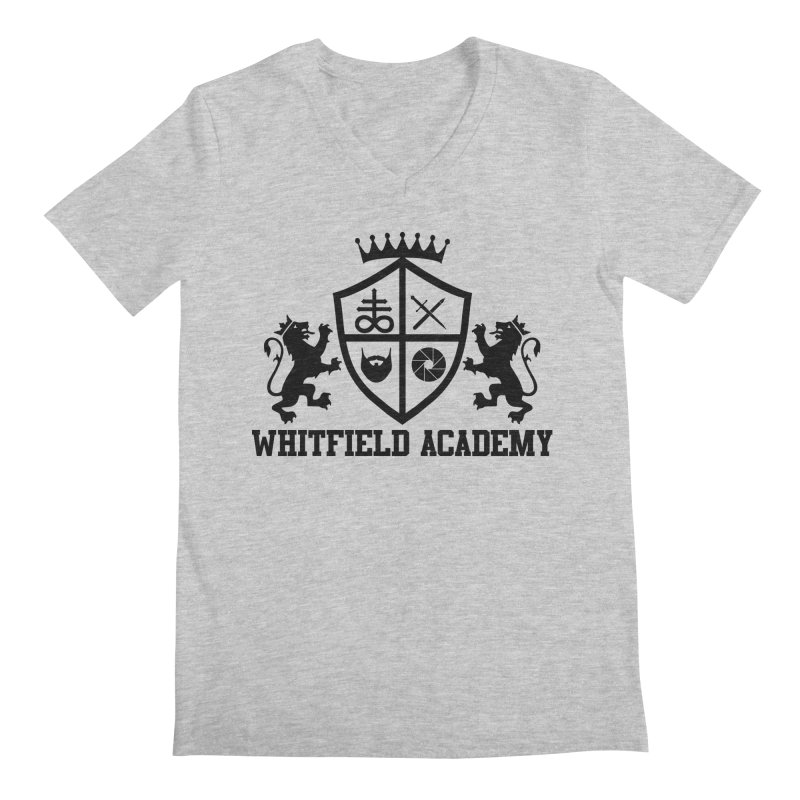 WHITFIELD ACADEMY Men's Regular V-Neck by Thee Most Exalted T-shirt page.