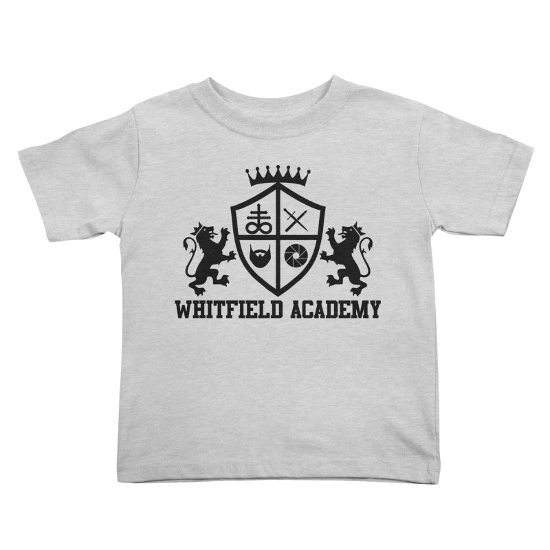 WHITFIELD ACADEMY Kids Toddler T-Shirt by Thee Most Exalted T-shirt page.