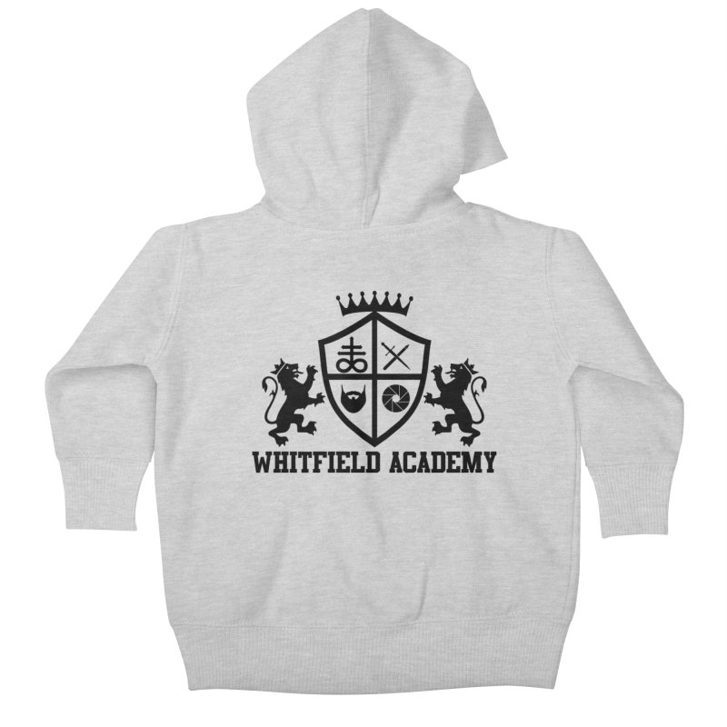 WHITFIELD ACADEMY Kids Baby Zip-Up Hoody by Thee Most Exalted T-shirt page.