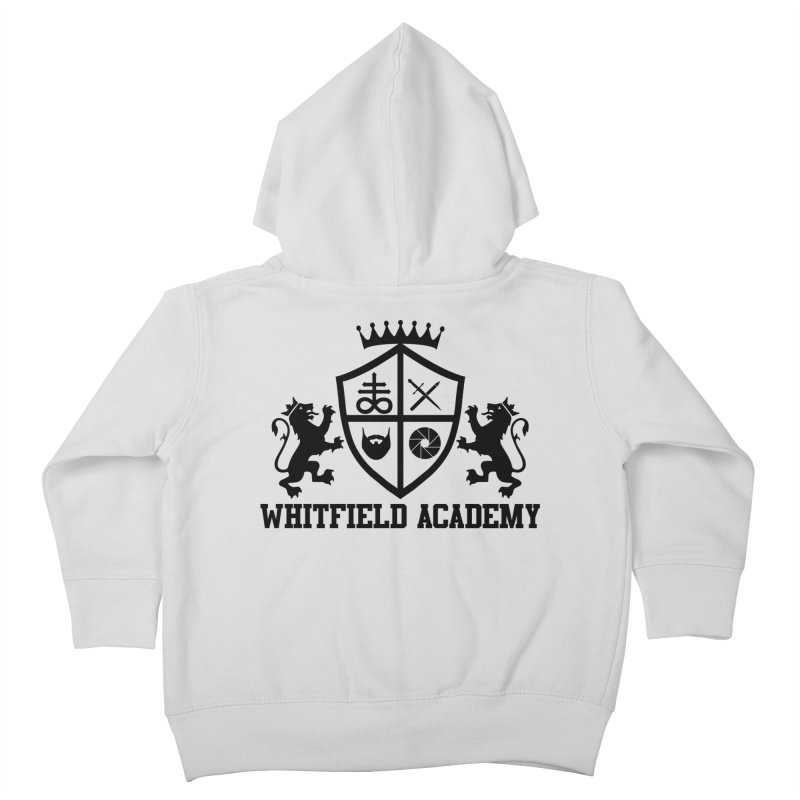 WHITFIELD ACADEMY Kids Toddler Zip-Up Hoody by Thee Most Exalted T-shirt page.