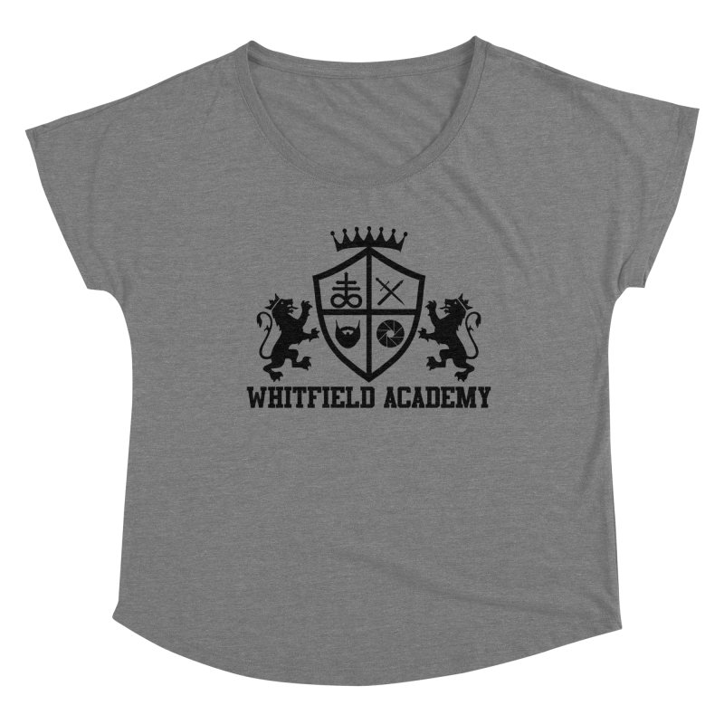 WHITFIELD ACADEMY Women's Dolman Scoop Neck by Thee Most Exalted T-shirt page.